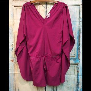 Barney's Raspberry Pink Romper Size XS